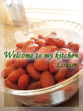 私の♡金時豆の甘煮