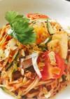 ふるるビビン麺で簡単人気のヤムウンセン