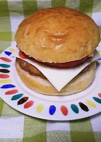 大豆のチカラ!ヘルシーハンバーガー♪