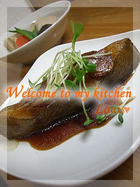 白身魚<゜)))彡 基本の煮付け