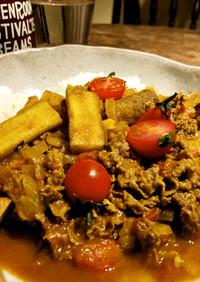 牛肉とゴボウのカレー【バングラスパイス】
