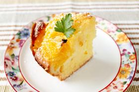 冷やしておいしい♪夏ミカンのHMケーキ