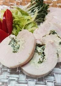 ✿ 鶏ハム~大葉にんにくマヨ風味✿