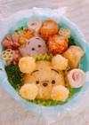 幼稚園年少さん弁当♡ツムツムキャラ弁