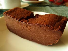 ジョニーで濃厚チョコケーキ