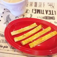 カレーパン風パンの耳☆おやつや朝食に