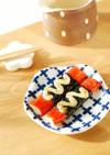 トースターで簡単♡カニカマの海苔マヨ焼き