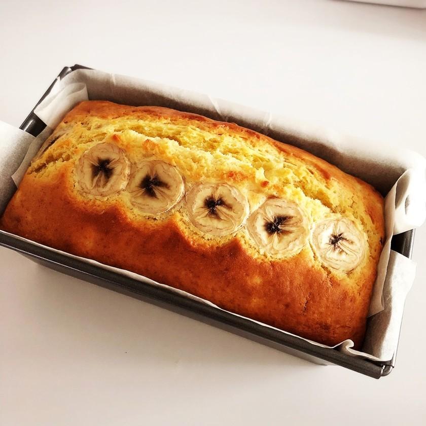 簡単!HMでサクサクバナナパウンドケーキ