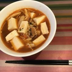 豆腐入り辛ラーメン
