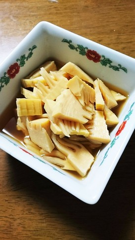 とっても簡単な竹の子の煮物