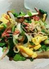 小松菜の彩り炒め