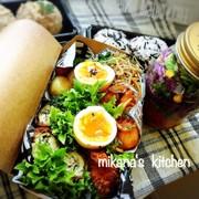 お弁当に☆メイソンジャーサラダ☆などなどの写真