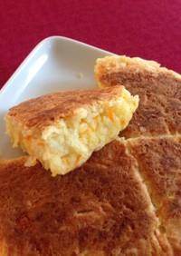 ホロリ♡HMで人参とチーズのちぎりパン風