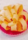 お弁当に!レンジで簡単、薄焼き玉子でお花