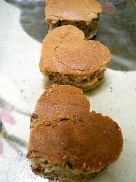 失敗生まれの小豆ケーキ(ノンオイル)