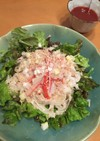 野菜ジュースで☆簡単サラダ麺