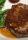 豆腐と牛豚&鶏モモ挽肉のハンバーグ