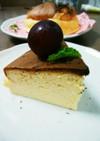 【糖質制限】甘さ控えめスフレチーズケーキ
