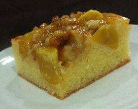 マロンとナッツのベイクドケーキ