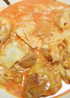 野菜ジュースでチキンチーズ煮