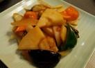 タラと春野菜の中華風炒め物