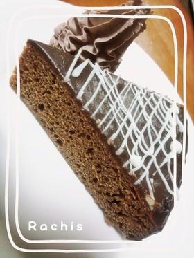 炊飯器&HKMで濃厚チョコケーキ♪