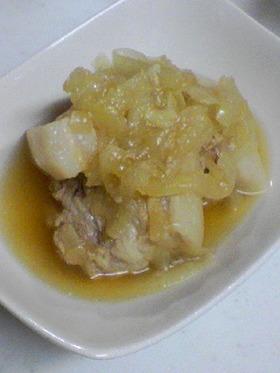 玉ねぎと豚バラの煮込み