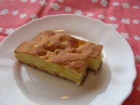 甘夏かんピールの簡単パウンドケーキ風