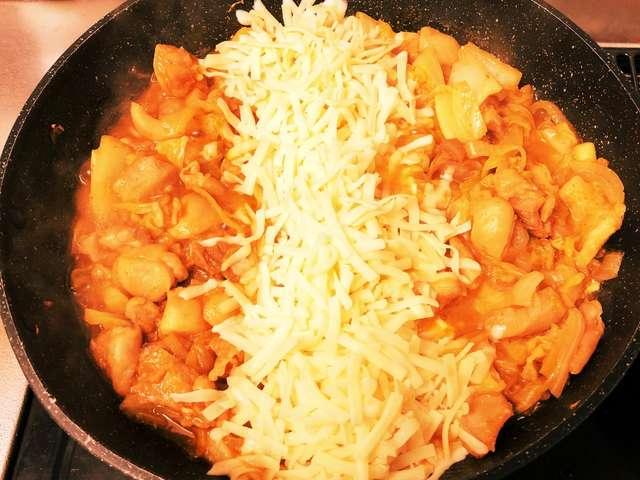 チーズ タッカルビ レシピ フライパン 人気