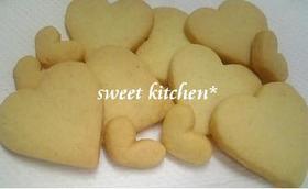 シンプル♥型抜きクッキー