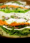 7種の野菜と恵那どりハムのサンドイッチ