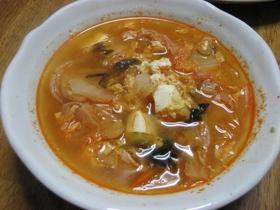 ほかほかキムチスープ