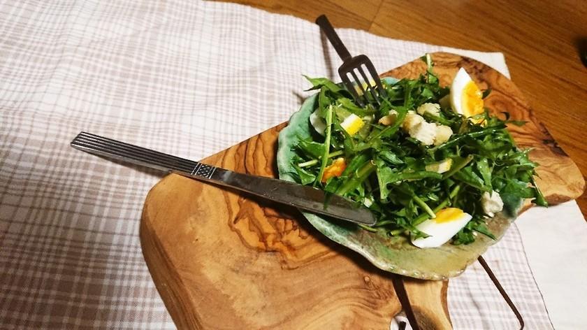タンポポのサラダ