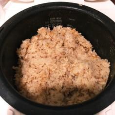 ツナと油揚げの炊き込みご飯(千代の一番)