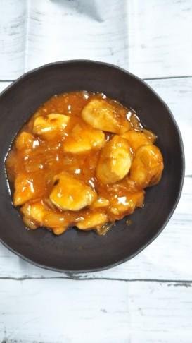 鶏ササミのチリソース♡(エビチリ風)
