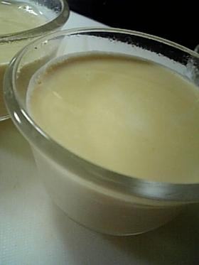 口どけトロトロのミルクティプリン