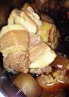 圧力鍋で豚角煮☆