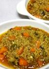 キーマ風野菜ゴロゴロひき肉カレー