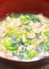 簡単すぎる!レタスと卵のスープ