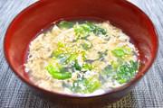 簡単すぎる!レタスと卵のスープの写真