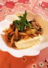 豚ひき肉と大根のとろみ餡掛け豆腐