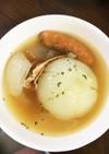 炊飯器でまるごと玉ねぎスープ