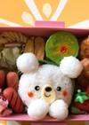 よく食べる6歳児くまちゃん弁当♡キャラ弁