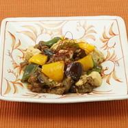 夏野菜マーボー