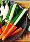 野菜スティック用『簡単マヨ味噌ディップ』