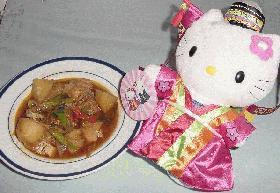 変わり肉じゃが第2段!!韓国ピリ辛肉じゃが(タットリタン)