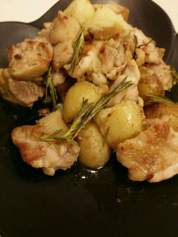 ローズマリー鶏肉&ジャガイモ
