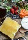 りんご&生プリンクリームon乃が美のパン
