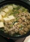 休肝日に★白菜たっぷりシンプルぶっこみ鍋