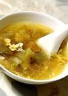 ザーサイとメンマのスープ